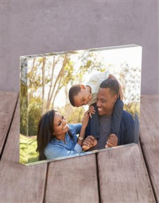 gifts: Personalised Photo Upload Acrylic Block!
