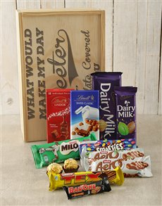 gifts: Make My Day Chocolate Crate!