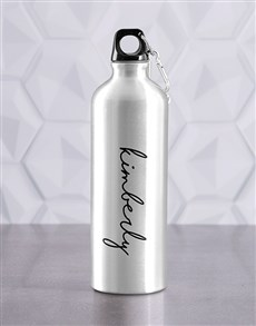 gifts: Personalised Signature Waterbottle!