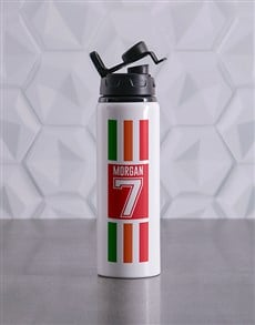 gifts: Personalised Team Waterbottle!