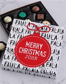 gifts: Personalised Christmas Falala Tray!