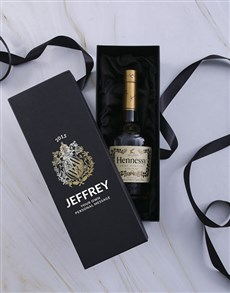 gifts: Personalised Hennessy VS Giftbox!