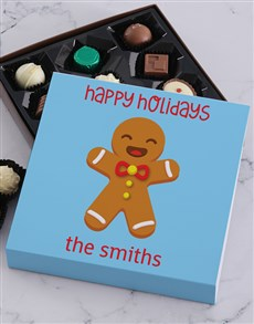 gifts: Personalised Happy Holidays Tray!