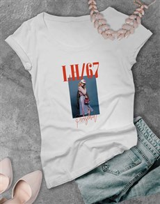 gifts: Personalised Photo and Graphic Ladies T Shirt!