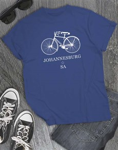 gifts: Personalised Bicycle T Shirt!