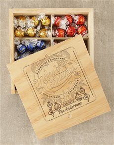 gifts: Personalised Christmas Wonder Lindt Box!