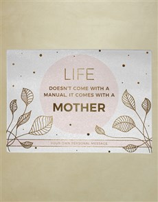 gifts: Personalised Life Glass Chopping Board!