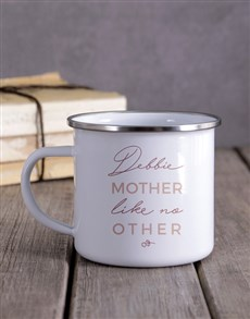 gifts: Personalised Mother Like No Other Camper Mug!