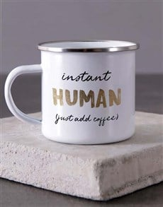 gifts: Personalised Instant Human Camper Mug!