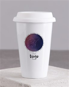 gifts: Personalised Star Sign Ceramic Travel Mug!