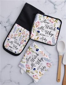 gifts: Personalised Watch Me Whip Kitchen Set!