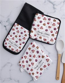 gifts: Personalised Cupcakes Kitchen Set!