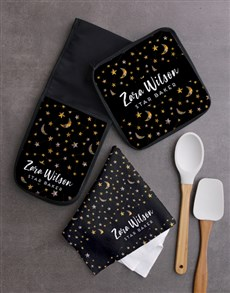 gifts: Personalised Stars Kitchen Set!