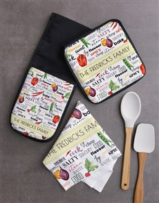 gifts: Personalised Fruit And Veg Kitchen Set!