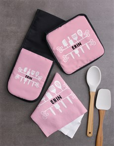 gifts: Personalised Elegant Kitchen Set!