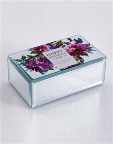 gifts: Personalised Mothers Day Mirror Trinket Box!