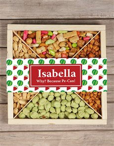 gifts: Personalised Tropical Snack Tray!