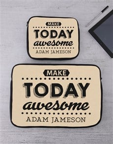 gifts: Personalised Awesome Tablet or Laptop Sleeve!