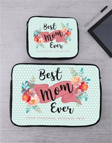 gifts: Personalised Best Mom Tablet or Laptop Sleeve!