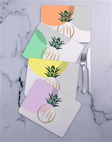 gifts: Personalised Colourful Placemat Set!