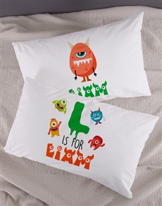 gifts: Personalised Bright Star Emoji Pillow Case Set!