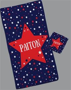 gifts: Personalised Twinkles Towel Set!