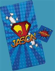 gifts: Personalised Superkid Towel Set!