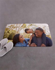gifts: Personalised Photo Upload Bath Mat!