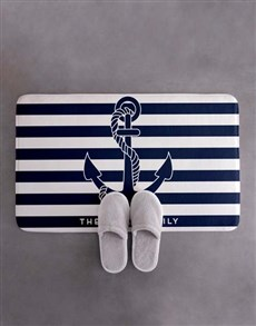 gifts: Personalised Coastal Bath Mat!