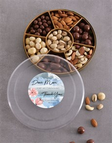 gifts: Personalised Thank You Mom Nut Tray!
