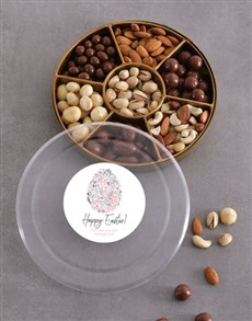 gifts: Personalised Happy Easter Nut Tray!