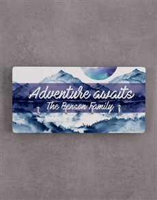 gifts: Personalised Adventure Awaits Key Holder !