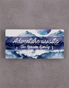 gifts: Personalised Adventure Awaits Key Holder !