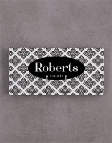 gifts: Personalised Tiled Key Holder!