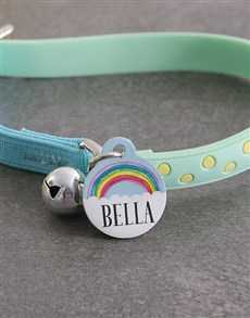 gifts: Personalised Rainbow ID Tag and Cat Collar!