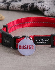gifts: Personalised Aluminium ID Tag and Collar!