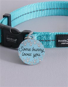 gifts: Personalised Bunny ID Tag and Collar!