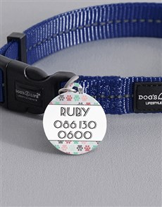 gifts: Personalised Paw ID Tag and Collar!