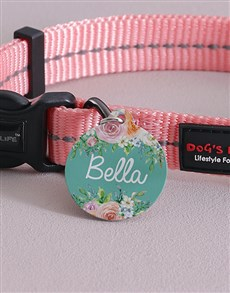 gifts: Personalised Beauty ID Tag and Collar!