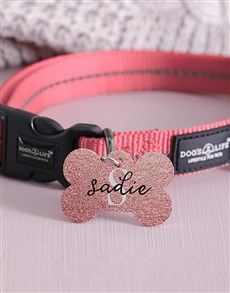 gifts: Personalised Sassy Bone ID Tag and Collar!