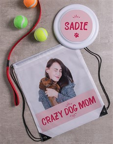 gifts: Personalised Crazy Mom Frisbee and Bag!