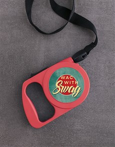 gifts: Personalised Wag With Swag Dog Lead!
