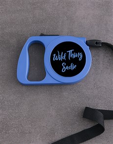 gifts: Personalised Wild Thing Retractable Dog Lead!