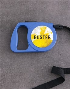 gifts: Personalised Smoke Bomb Retractable Dog Lead!