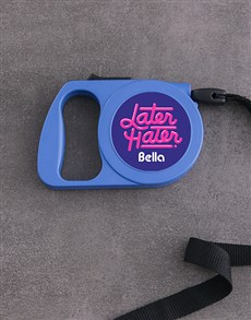 gifts: Personalised Retro Retractable Dog Lead!