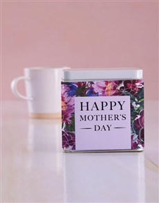 gifts: Personalised Mothers Day White Tea Tin!