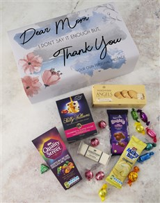 gifts: Personalised Thank You Mom Gourmet Box!