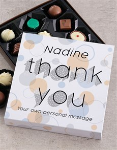 gifts: Personalised Thank You Chocolate Tray!