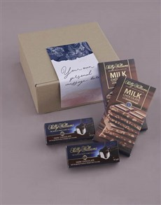 gifts: Floral Own Message Sally Williams Nougat Box!
