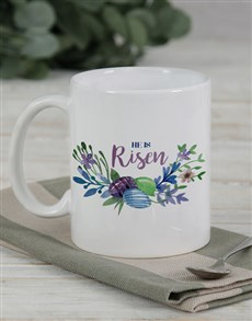 gifts: Personalised He is Risen Mug Gift!